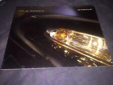 2001 Oldsmobile Intrigue Catalog Brochure Prospekt