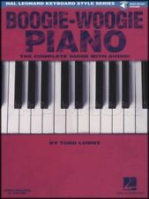 Boogie-Woogie The Piano Complete Guide Sheet Music Book with Audio by Todd Lowry