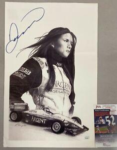 Danica Patrick Signed Photo Print Autographed AUTO w/ JSA COA