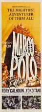 Marco Polo Movie Poster Insert 14x36 Replica