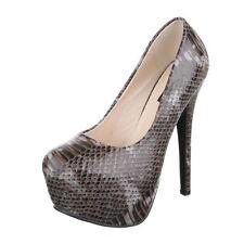 30-39 Damenschuhe mit Pfennig -/Stilettoabsatz für Clubwear-Größe