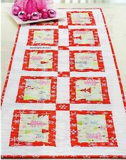 Jingle Table Runner Quilt Pattern Pieced TM