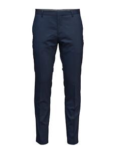 Calvin Klein Stretch Wool Suit Slim Suit Pants Ink Blue - Size 40