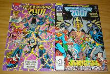 Armageddon 2001 #1-2 VF/NM complete series - batman - superman - justice league