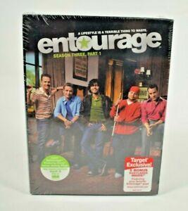 Entourage: Season 3, Part 1 (DVD, 2007, 3-Disc Set) Target Exclusive w/Postcards