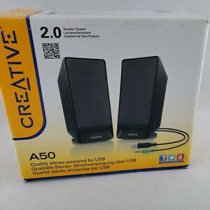 Speaker System A50 USB Powered Stereo Speakers