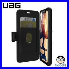 UAG Urban Armor Gear Metropolis Rugged Folio Wallet Case for iPhone XR, Black