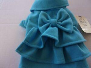 Upper East Side Princess Ruffle bow Jacket Dog XXS XS M Bond & Co new pet coat