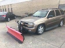 2002 Chevy Trailblazer with western snow plow (SUV needs engine