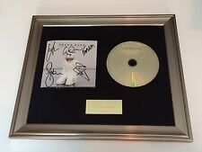 PERSONALLY SIGNED/AUTOGRAPHED YOUNG GUNS - ONES AND ZEROS FRAMED CD PRESENTATION