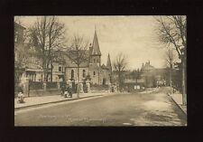 Leicestershire Leics MARKET HARBOROUGH Northampton Rd 1918 PPC