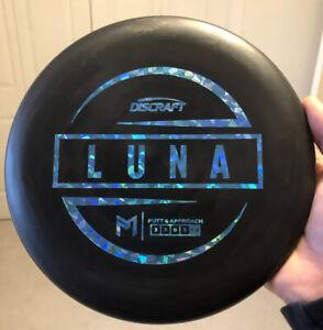 Discraft Luna | Jawbreaker | 173-174g | Black | Putter | Disc Golf | Paul Mcbeth