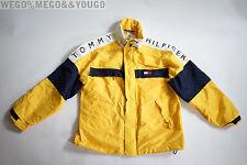 VTG 90s Tommy Hilfiger Men's Hooded Windbreaker Jacket Spell Out size Large L