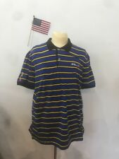 Polo Ralph Lauren Men's Blue Striped Sweater Size L