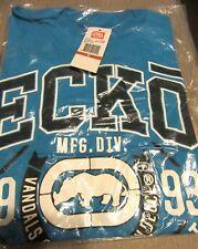 BRAND NEW ECKO UNLTD MEN'S T-SHIRT SMALL TURQUOISE BLUE