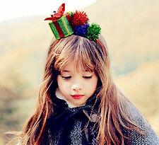 Lady Girls Child Boxing Gift Novelty box Christmas Party hair headband Band PROP