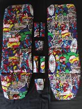 Baby jogger city mini GT double,2 pram liners set-marvel comics superheroes.