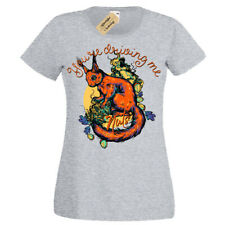 You're driving me nuts T-Shirt Squirrel Womens Ladies