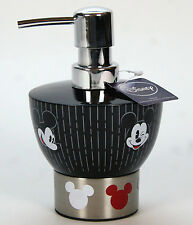 Disney Mickey Mouse Tuxedo Soap / Lotion Pump Dispenser   Black