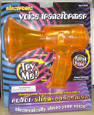 Toy *ELECTRONIC VOICE TRANSFORMER* Megaphone New! colors vary
