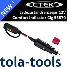 CTEK 56870-estado de carga visualización del encendedor de cigarrillos cigarette Plug-ladeampel