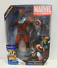 Marvel Universe SKRULL GIANT MAN and CAPTAIN AMERICA Walmart Exclusive 2 pack