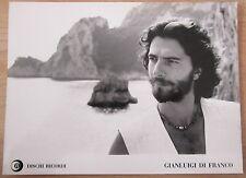 GIANLUIGI DI FRANCO * original DISCHI RICORDI promotional picture * 24 x 17,5 cm