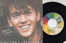 GIACOMO CELENTANO disco 45 g STAMPA ITALIANA Musica veloce 1989 MARIO LAVEZZI