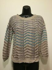 Hinge From Nordstrom's Pullover  Wave Striped Cropped Sweater.Size XS MSRP $78