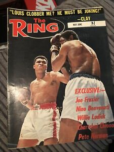 The Ring Boxing Magazine May June 1967