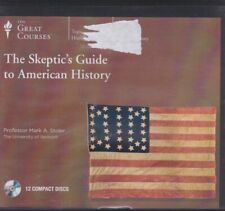 THE SKEPTIC'S GUIDE TO AMERICAN HISTORY by THE GREAT COURSES~CD'S 24 LECTURES+++