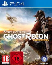 PS4 Tom clancy's Fantasma Recon Wildlands Uncut Mercancía Nueva PLAYSTATION 4