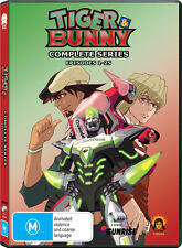 Tiger & Bunny (Complete Series - Standard Edition) - 4DVD R4 Anime