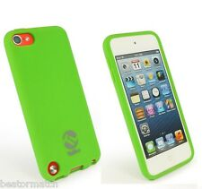 Tuff-luv Apple iPod Touch 5G 5th génération silicone gel case grip cover vert