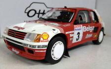 Artículos de automodelismo y aeromodelismo color principal blanco Peugeot de escala 1:18