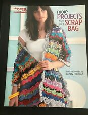 NEW!  LEISURE ARTS 5169 MORE PROJECTS FROM SCRAP BAG BOOK