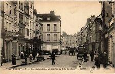 CPA  Abbeville - Rue Saint-Gilles et Hotel de la Téte de Boeuf    (515137)