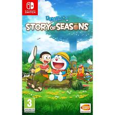 Doraemon Story of Seasons (Nintendo Switch, 2019) Brand New - Region Free