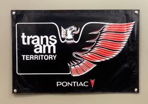 Pontiac Trans Am Territory 24''x36'' Garage Shop Banner