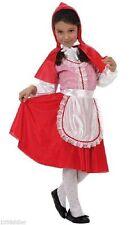 Déguisement Fille Petit Chaperon Rouge 7/8/9 ans Costume Enfant Dessin Animé