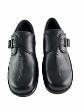 Eastland Syracuse Side Buckle Black Leather Comfort Women's Shoes Size 8.5 M
