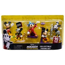 Disney 90th Anniversary Limited Edition Mickey Mouse Figurines and Cake Toppers