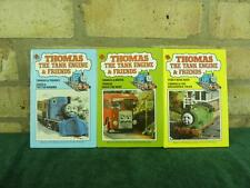 3 vintage ladybird books Thomas the tank engine & friends Percy , James , Berti