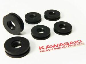 Kawasaki z1 kz900 kz1000 Side Cover Rubber Grommet Damper Cushion frame ring a b