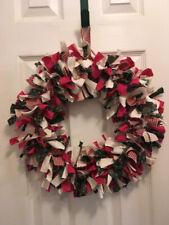 Country Rag Bow Wreath