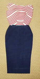 VINTAGE DRESS FOR BARBIES OUTFITS CRUISE STRIPES#918 & ROMAN HOLIDAY#968 NICE~