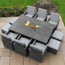 Garden Patio Rattan Cube Sets Ebay