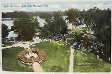Bird 's Eye Hyde Park-milan Kans. 1910 cancel-Postcard ak tarjeta postal (a2553