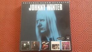 Coffret 5 CD Johnny Winter Original Album Classics