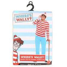WHERES WALLY ADULTS MENS COSTUME WORLD BOOK DAY CHARACTER NOVELTY FANCY DRESS